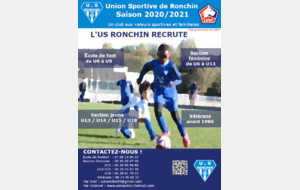 L'US Ronchin recrute !